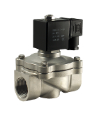 WIC Valve 2SCW Series 1 Inch NPT Normally Closed Stainless Steel Zero Differential Air Water Gas Solenoid Valve