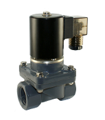 "WIC 2PCZ Series 3/4"" Inch NPT Normally Closed Anti Corrosion Acid Resistant Salt Water Solenoid Valve"