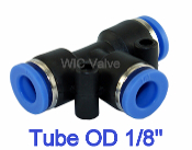 WIC Valve PTU Series Tee Union 3 way Connector