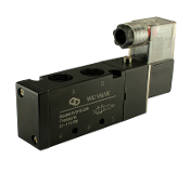 "WIC Valve 4V310 Series 3/8"" Inch NPT 4 way 2 Position Pneumatic Directional Control Solenoid Valve"