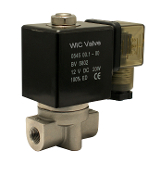 WIC Valve 2SCK Series Stainless High Pressure Pneumatic Air Water Solenoid Valve