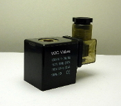 WIC Valve 2W Series 110V AC Class H IP 65 ED 100% Continuous Duty CE Certification Solenoid Coil