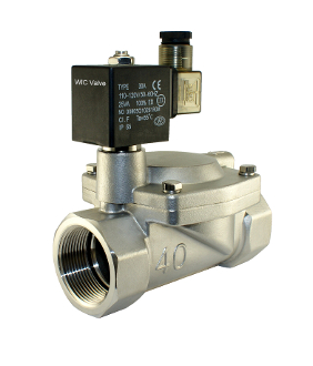 WIC Valve 2SCD Series One and Half Inch Slow Closing Water Hammer Resistant Solenoid Valve