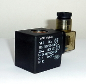 WIC Valve 2D Series 110V AC Encapsulated Class H IP 65 ED 100% Continuous Duty CE Certification Solenoid Coil