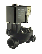 WIC Valve 2PCH Series Plastic Solenoid Valve With Manual Override function