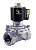 WIC Valve 2SOW Series Normally Open Stainless Steel Viton Diaphragm Hot Water Solenoid Valve