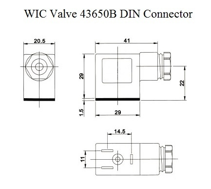 DIN 43650B Connector Dimensions directional control solenoid valve, valve for single acting cylinder din 43650 wiring diagram at mr168.co