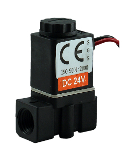 Fast Response Direct Acting Plastic Electric Solenoid Valve