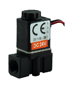 "WIC Valve 2PCK Series 1/8"" Inch NPT Engineered Plastic Electric Solenoid Valve"