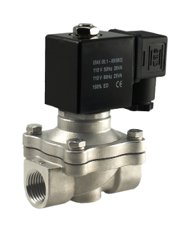 WIC Valve 2SCW Series Normally Closed Stainless Steel Zero Differential Electric Water Solenoid Valve