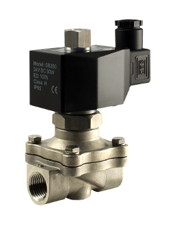 WIC Valve 2SOW Series Normally Open Stainless Steel Water Solenoid Valve