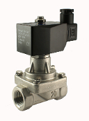 WIC Valve 2SCL Series half Inch Normally Closed Stainless Steel Steam Hot Water Solenoid Valve