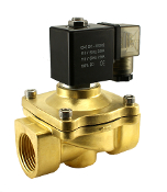 WIC Valve 2BCW Series Normally Closed Brass Solenoid Water Zero Differential Valve