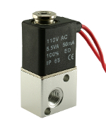 WIC Valve 3AK Series 3 Way Electric Directional Control Solenoid Valve