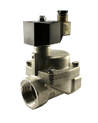 WIC Valve 2SCM Series Stainless High Pressure Hot Water Steam Solenoid Valve