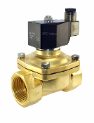 WIC Valve 2BCW Series Normally Closed Brass Electric Solenoid Water Valve