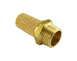 WIC Valve BSL Series Composite Brass Silencer Connector Noise Reduce Air Valve Muffler Fitting