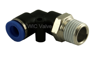 Tube Fitting Male Elbow Connector Air Push In Fitting