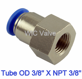 Polybutylene Plastic 1//8 Tube OD x 1//4 NPT Male Male Branch Tee USA Sealing Push to Connect Tube Fitting