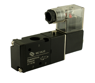 WIC Valve 3V210 3 way 2 Position Pneumatic Air Directional Control Solenoid Valve