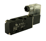 "WIC Valve 4V210 Series 1/4"" Inch NPT 4 way 2 Position Pneumatic Directional Control Solenoid Valve"