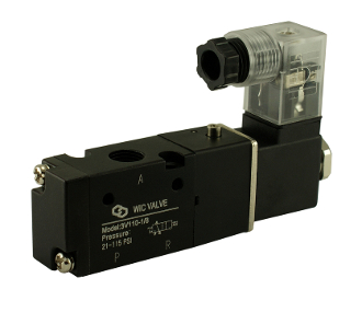 3 Way Directional Control Air Solenoid Valve