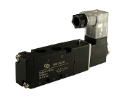 "WIC Valve 4V110 Series 1/8"" Inch NPT 4 Way 2 Position Pneumatic Air Directional Control Solenoid Valve"