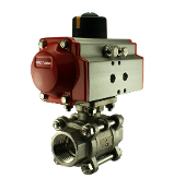 WIC Valve PVD Series Pneumatic Air Acturated Ball Valve