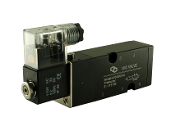 WIC Valve 4V310N Series NPT 4 way Pneumatic Directional Control Namur Mount Air Solenoid Valve