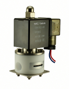 WIC Valve 2PCV Series Normally Closed Anti Corrosion Acid Resistant Teflon Solenoid Valve