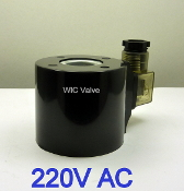 WIC Valve 2L Series 220 Volt AC Encapsulated Continuous Duty CE Certification Solenoid Coil