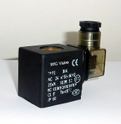 WIC Valve 2D Series 24V AC Anti Water Hammer Class H IP 65 ED 100% Continuous Duty CE Certification Solenoid Coil