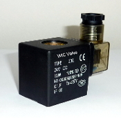 WIC Valve 2D Series 24V DC Class H IP 65 ED 100% Continuous Duty CE Certification Encapsulated Solenoid Coil