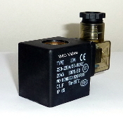 WIC Valve 2D Series 220V AC Encapsulated Class H Continuous Duty CE Certified Solenoid Coil