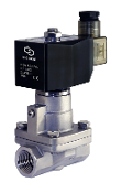 High Pressure Stainless Steel Solenoid Steam Valve