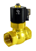1.5 Inch High Pressure Brass Solenoid Steam Process Valve