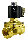 "1.25"" Inch Normally Open Zero Differential Solenoid Water Valve"