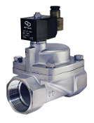 WIC Valve 2SCM Series 2 Inch High Pressure Stainless Steel Electric Steam Solenoid Valve