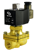 Brass Normally Open Brass Solenoid Diaphragm Valve