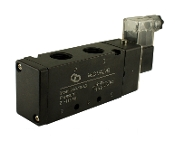 4 way 2 Position Pneumatic in-line Directional Control Solenoid Valve