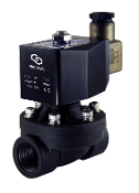 High Flow Plastic Electric Solenoid Valve