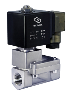 General Purpose SS316 Stainless Steel High Pressure Process Solenoid Valve