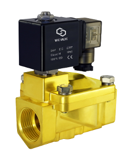 Brass General Purpose Brass High Pressure Process Solenoid Valve