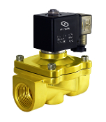 Brass Electric Solenoid Water Zero Differential Valve