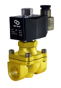 Normally Open Brass Electric Solenoid Valve