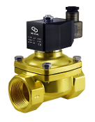 Brass Zero Differential Electric Solenoid Water WIC Valve