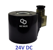 24V DC Low Power Consumption Solenoid Valve Coil