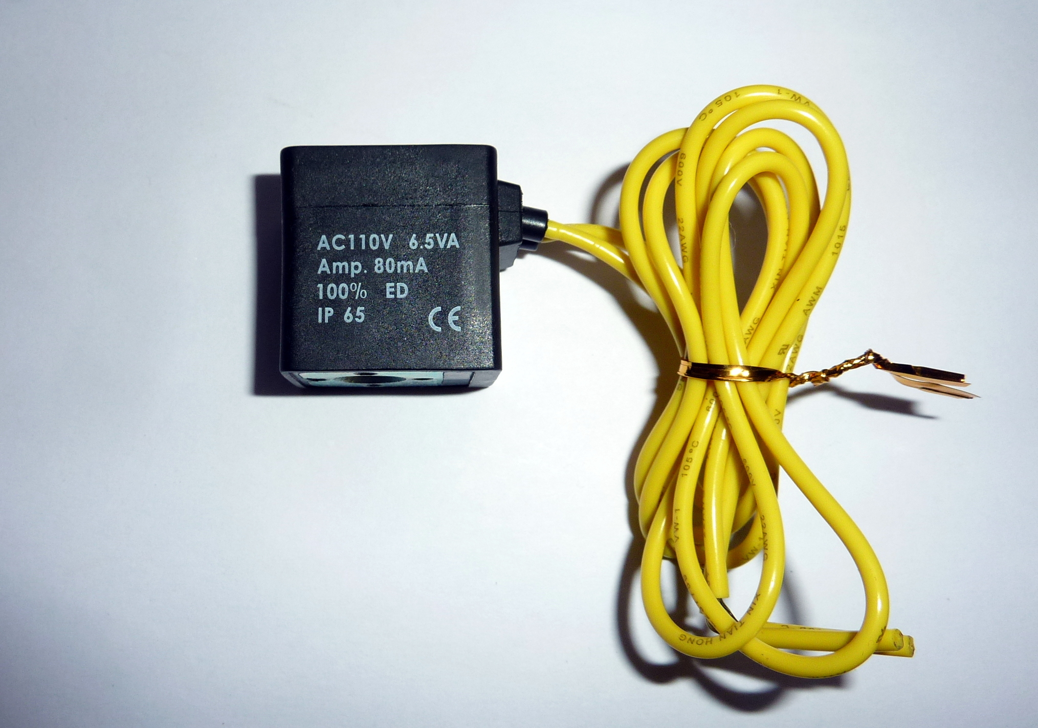 solenoid Coil, Continuous duty coil, IP 65 Coil, CE ... on