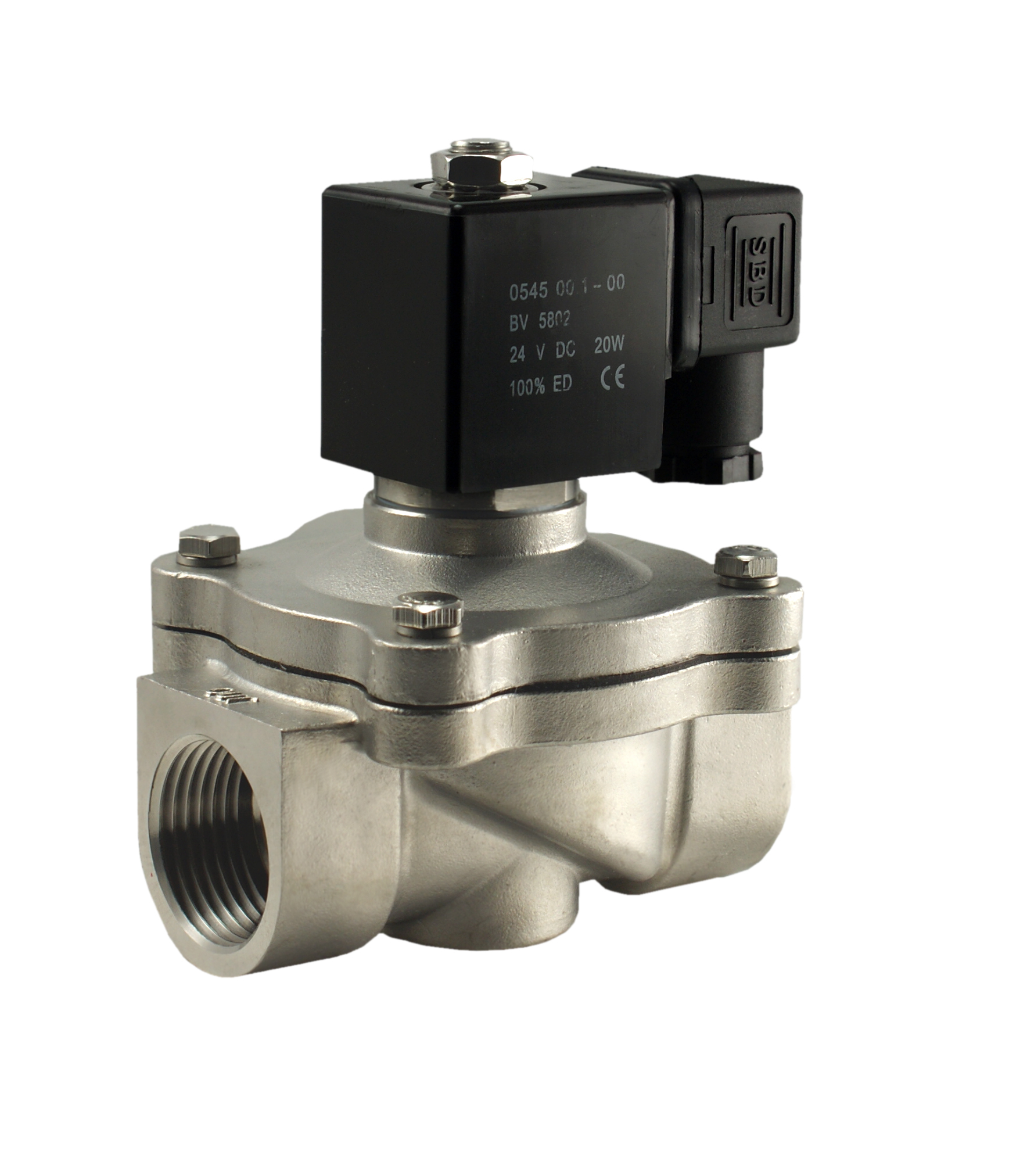 Hot water solenoid valve one inch electric valve ccuart Gallery